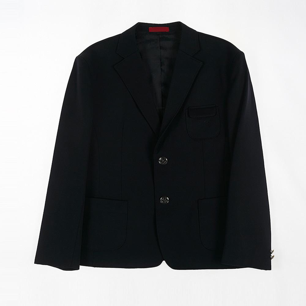 [교복아울렛] 투버튼 심플 남자 자켓 (노원중) 교복