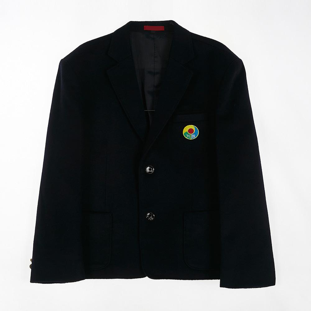 [교복아울렛] 투버튼 포켓 남자 자켓 (거원중) 교복
