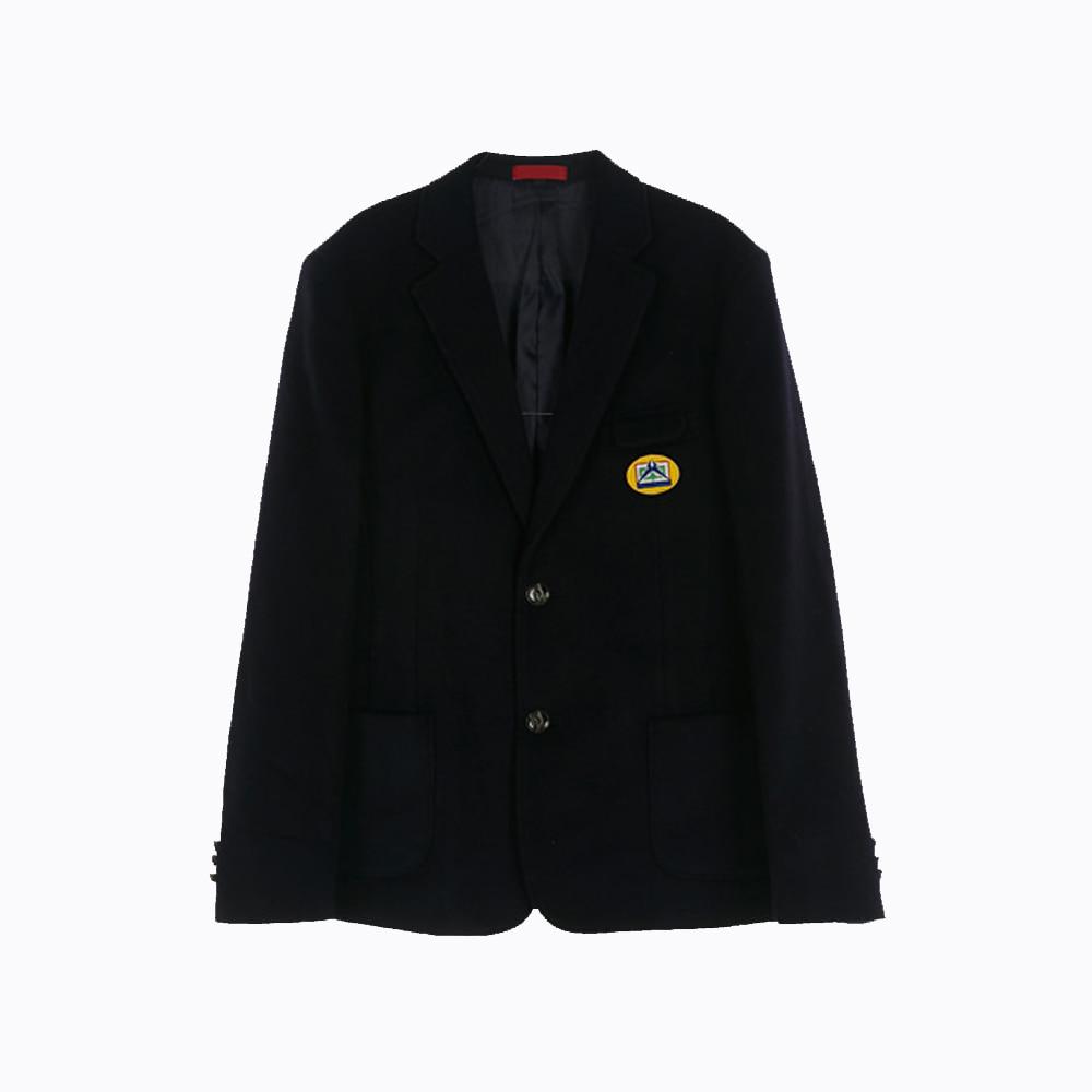 [교복아울렛] 심플 투버튼 남자자켓 (신일중) 교복