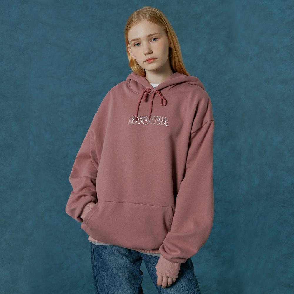 Hotfix logo hoodie-pink