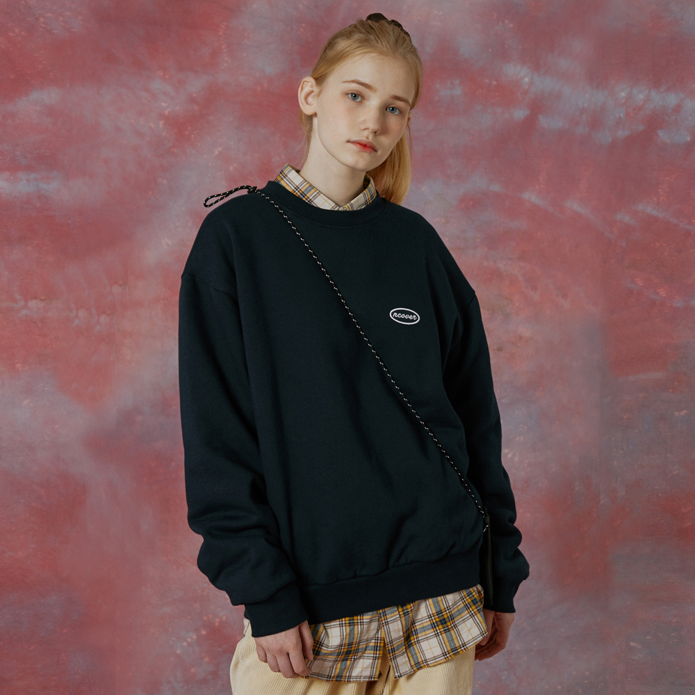 Small original tot sweatshirt-navy