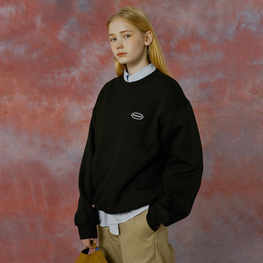 Small original tot sweatshirt-black