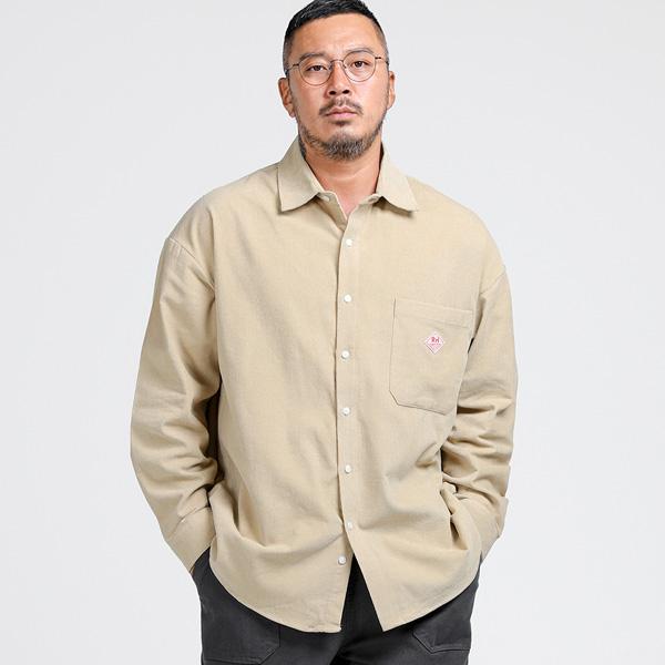 러기드하우스 : 제너드 포켓 코듀로이 셔츠 베이지