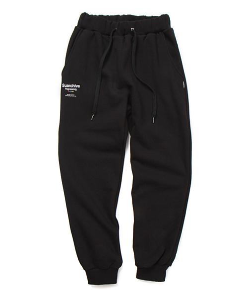 SUARCHIVE20 SWEAT JOGGER PANTS (BLACK)