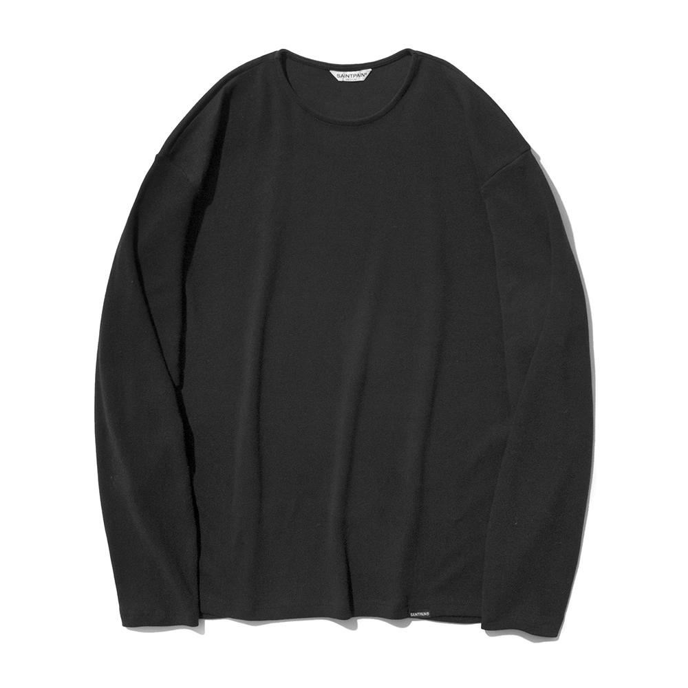 SP Over Fit Long Sleeve-Black