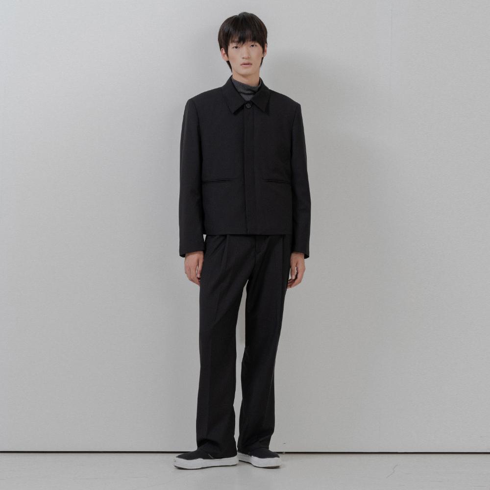 BF hidden set up jacket black