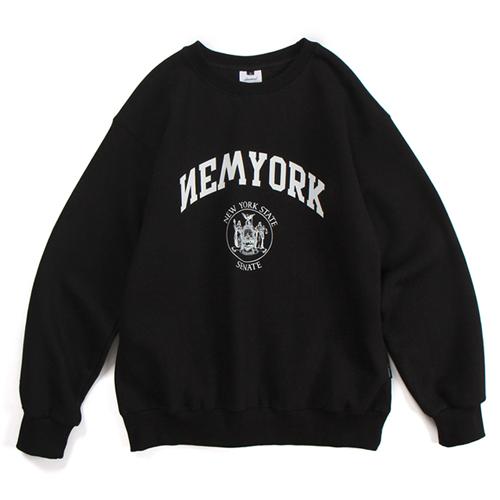 NYC20 CREWNECK (BLACK)