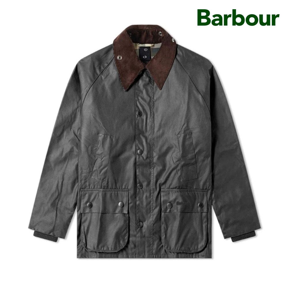 [바버]남성 비데일 왁스 자켓(MWX0018SG91)