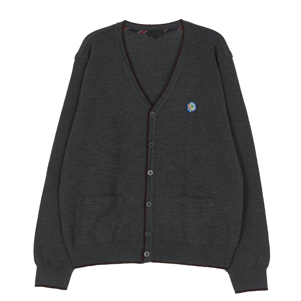 [교복아울렛] V넥 포켓 니트 가디건 (장내중) 교복