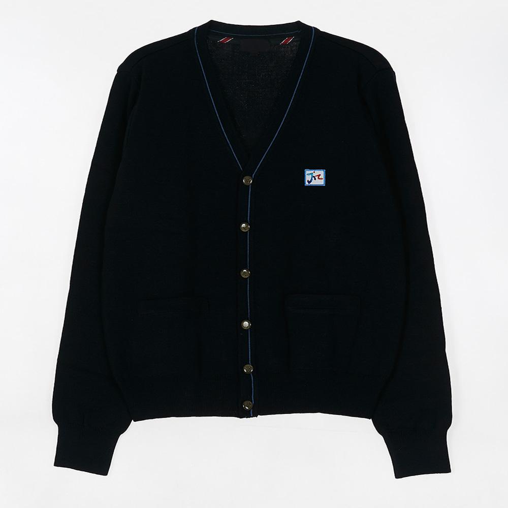 [교복아울렛] 블루 라인 가디건 (운정고) 교복 학생복