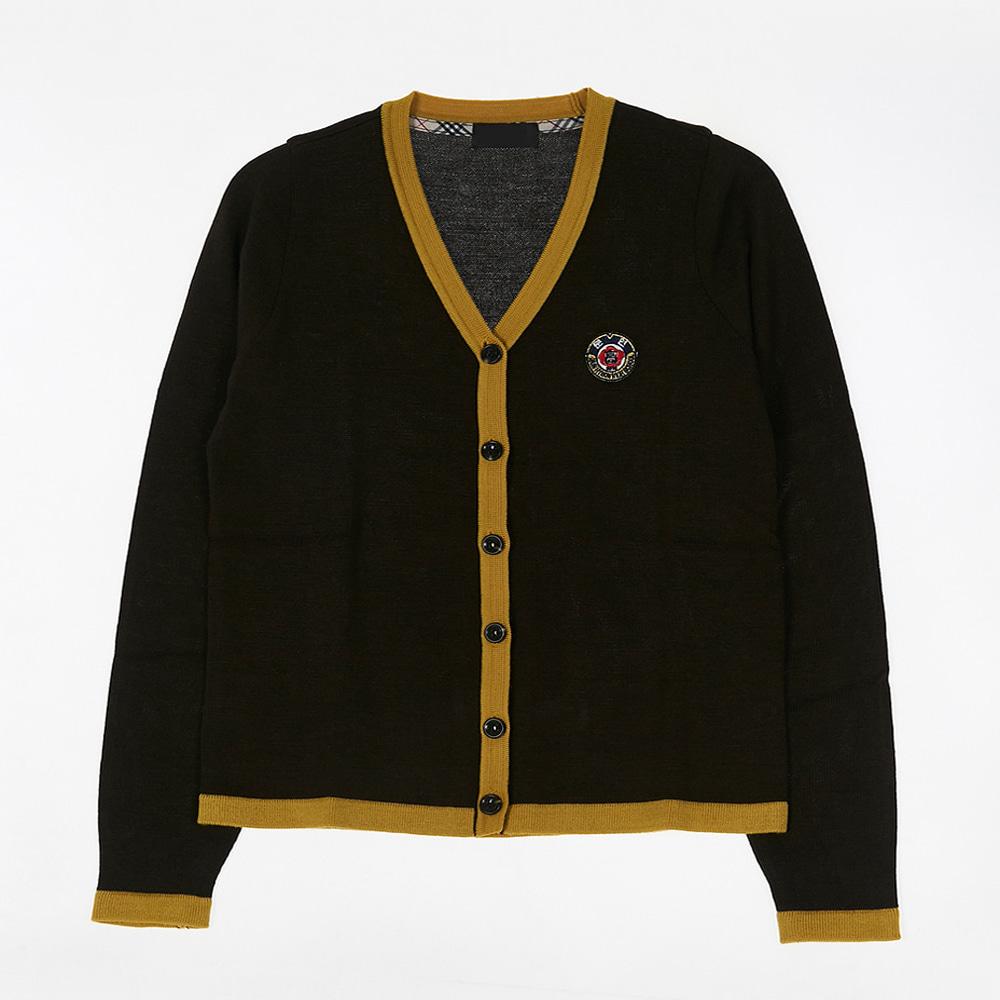 [교복아울렛] 옐로우 라인 여자 가디건 (문현고) 교복