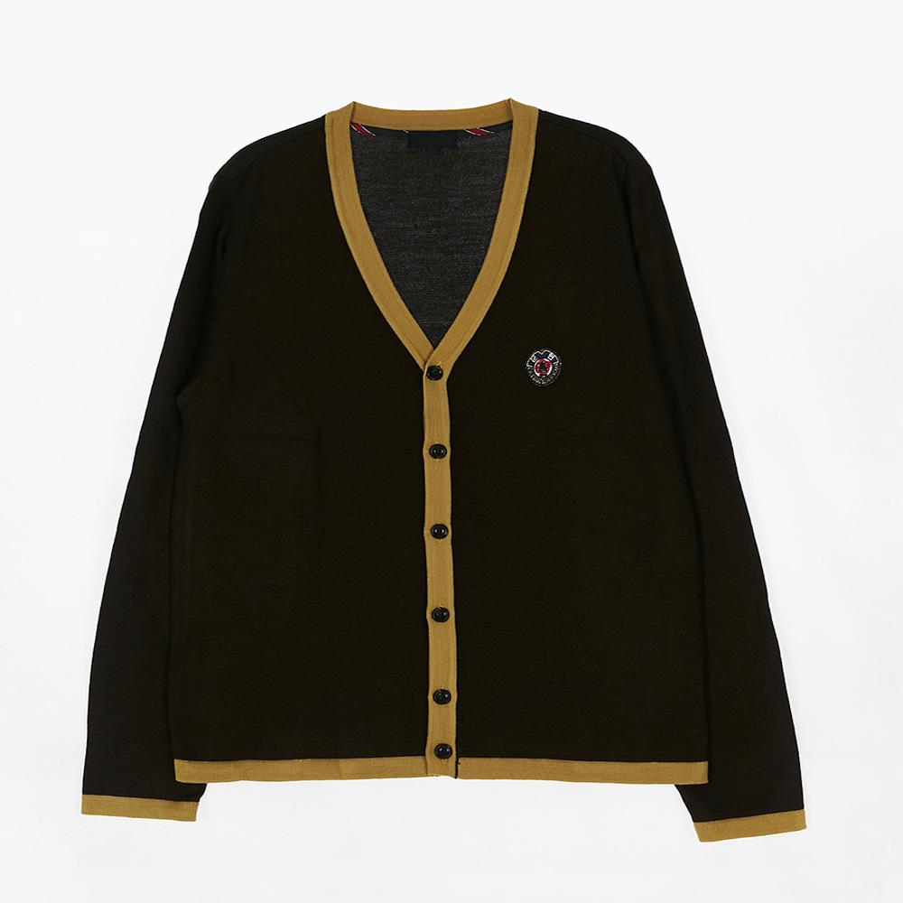 [교복아울렛] 옐로우 라인 남자 가디건 (문현고) 교복