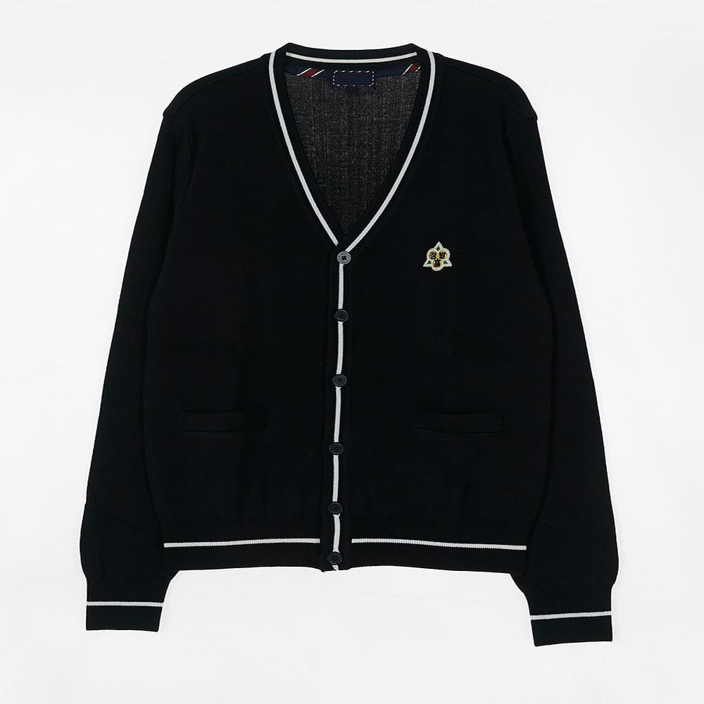 [교복아울렛] 화이트 라인 가디건 (정발고) 교복 학교