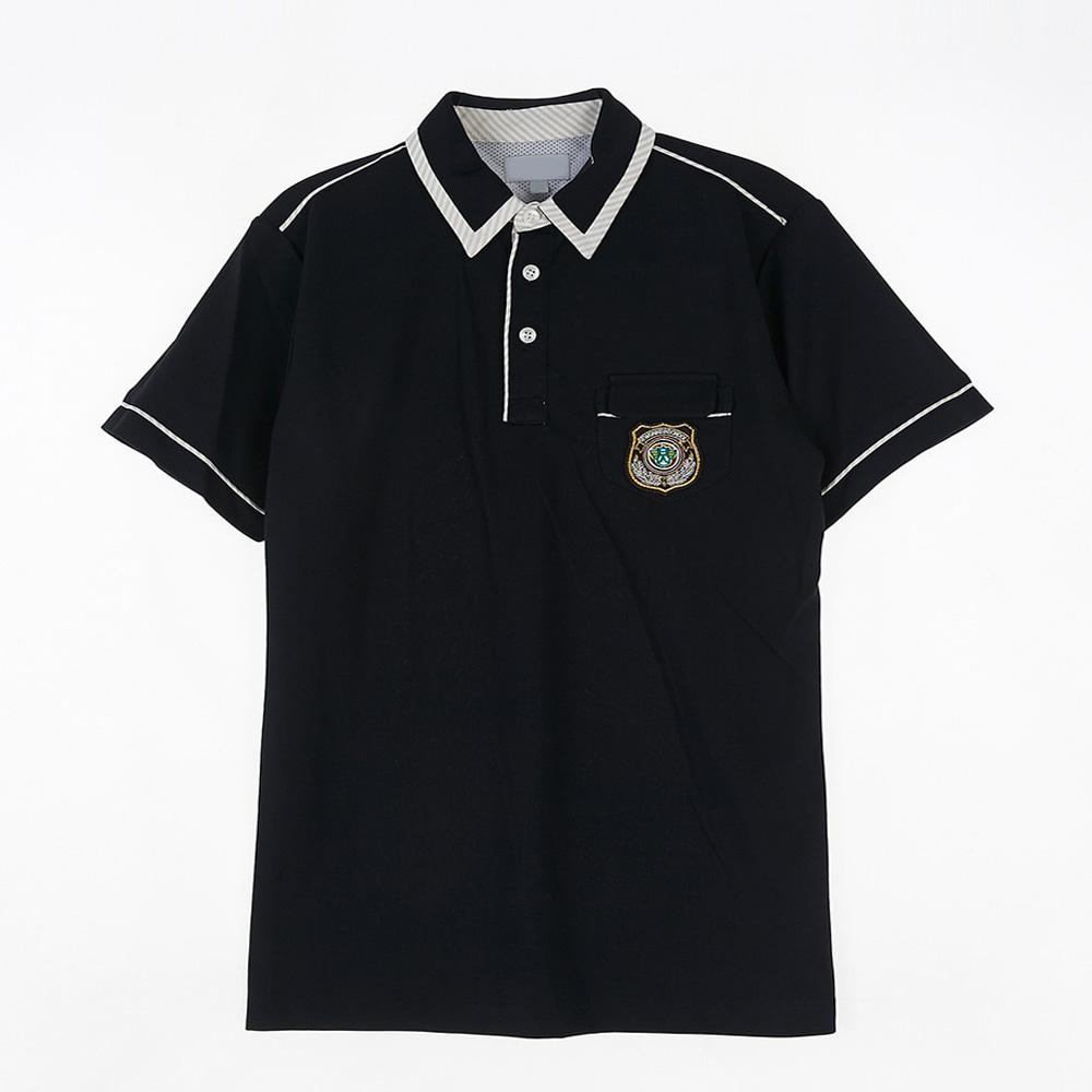 [교복아울렛] 화이트 라인 블랙 생활복 (세원고) 교복