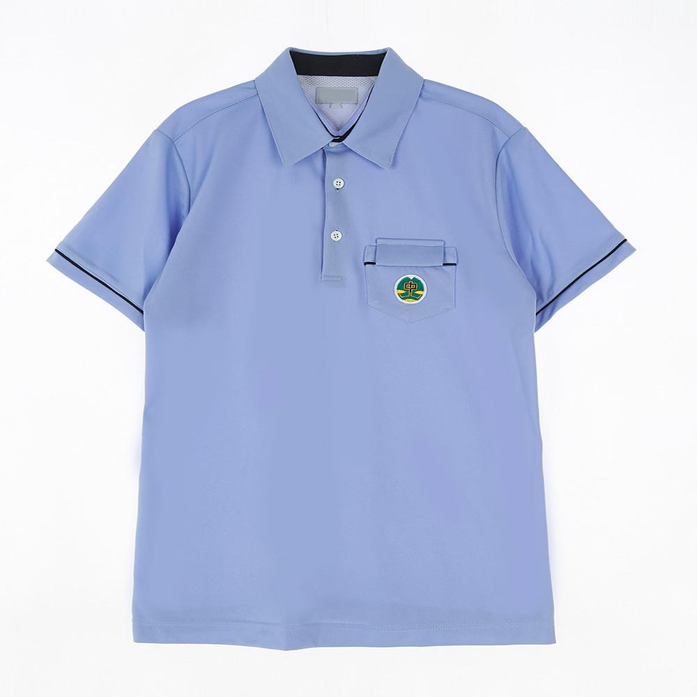 [교복아울렛] 유니크 포켓 블루 생활복 (증산중) 교복