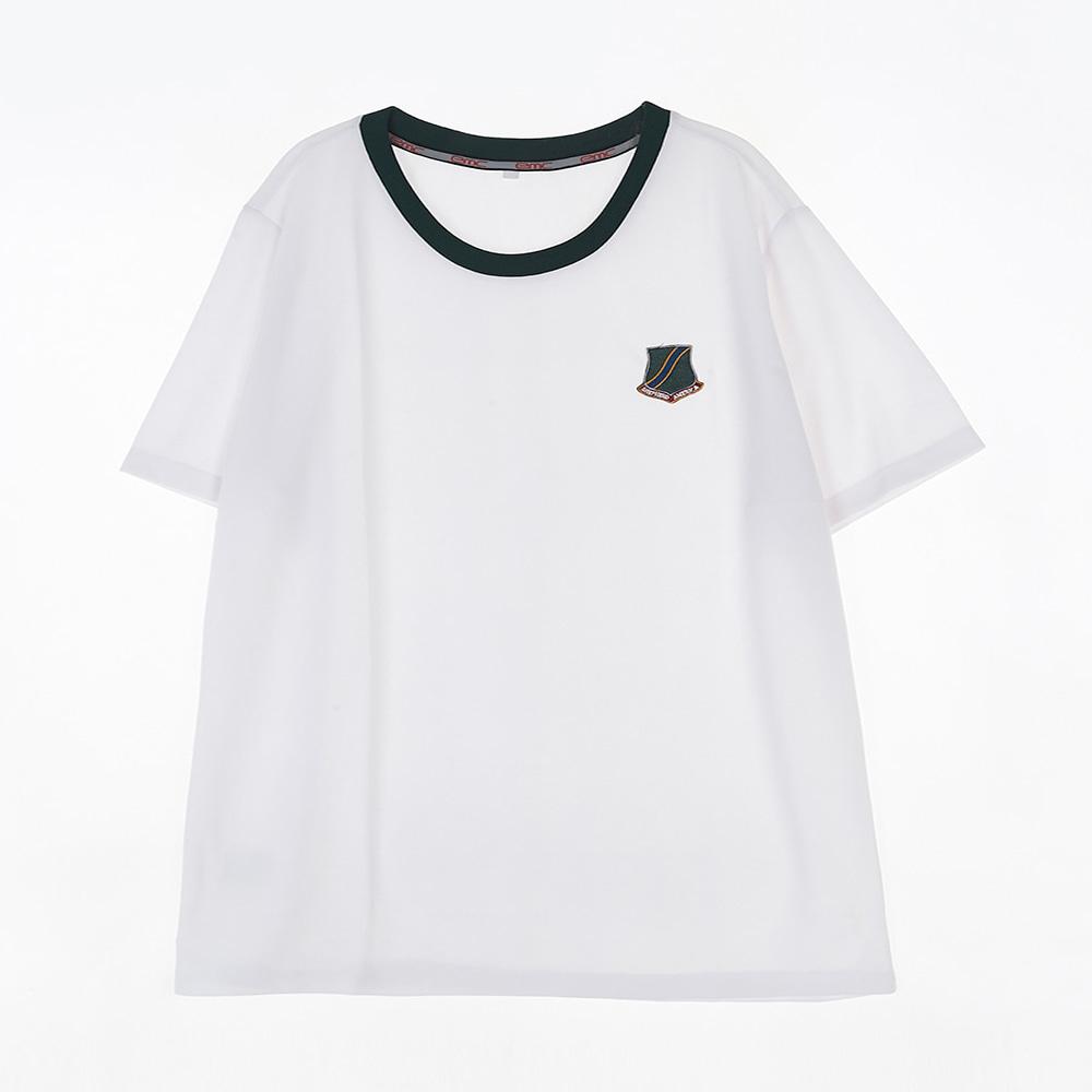 [교복아울렛] 흰색 SIE 하복 체육복 교복 교복쇼핑몰