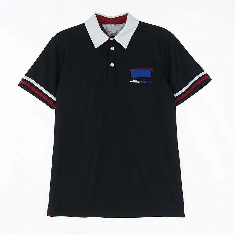 [교복아울렛] 곤색 파랑자수 생활복 (한영고) 교복