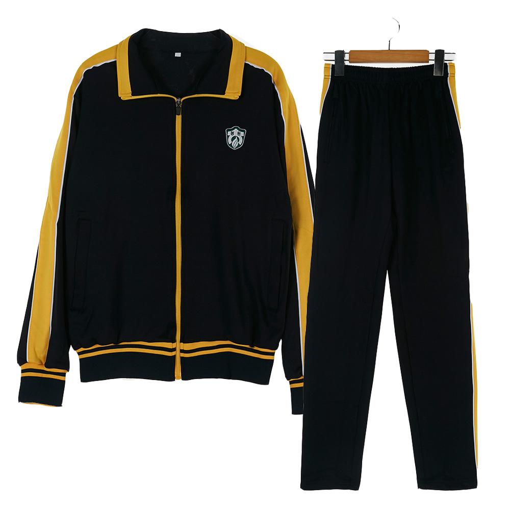 [교복아울렛] 옐로우 라인 체육복 세트 (청원고) 교복