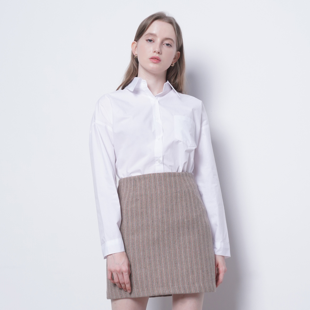 W25 NC cotton shirts white