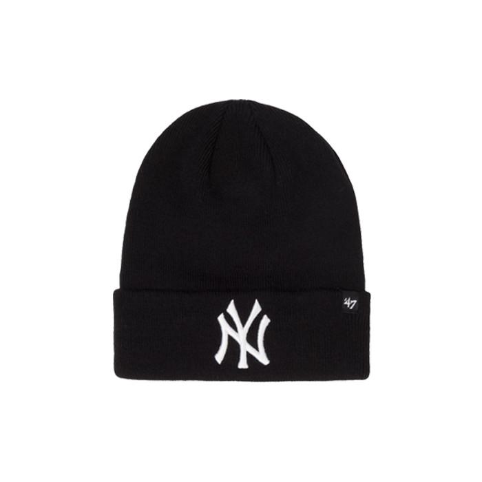[국내배송]47브랜드 NY 양키스 롱 비니 블랙 / BKA