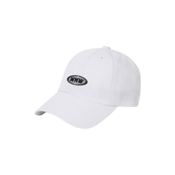 WEMEWE BALL CAP_WHITE