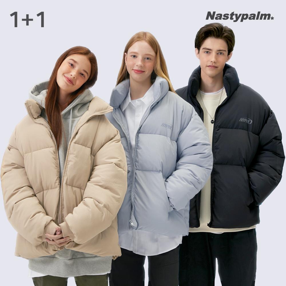 [1+1] NYPM 푸퍼 숏패딩 자켓