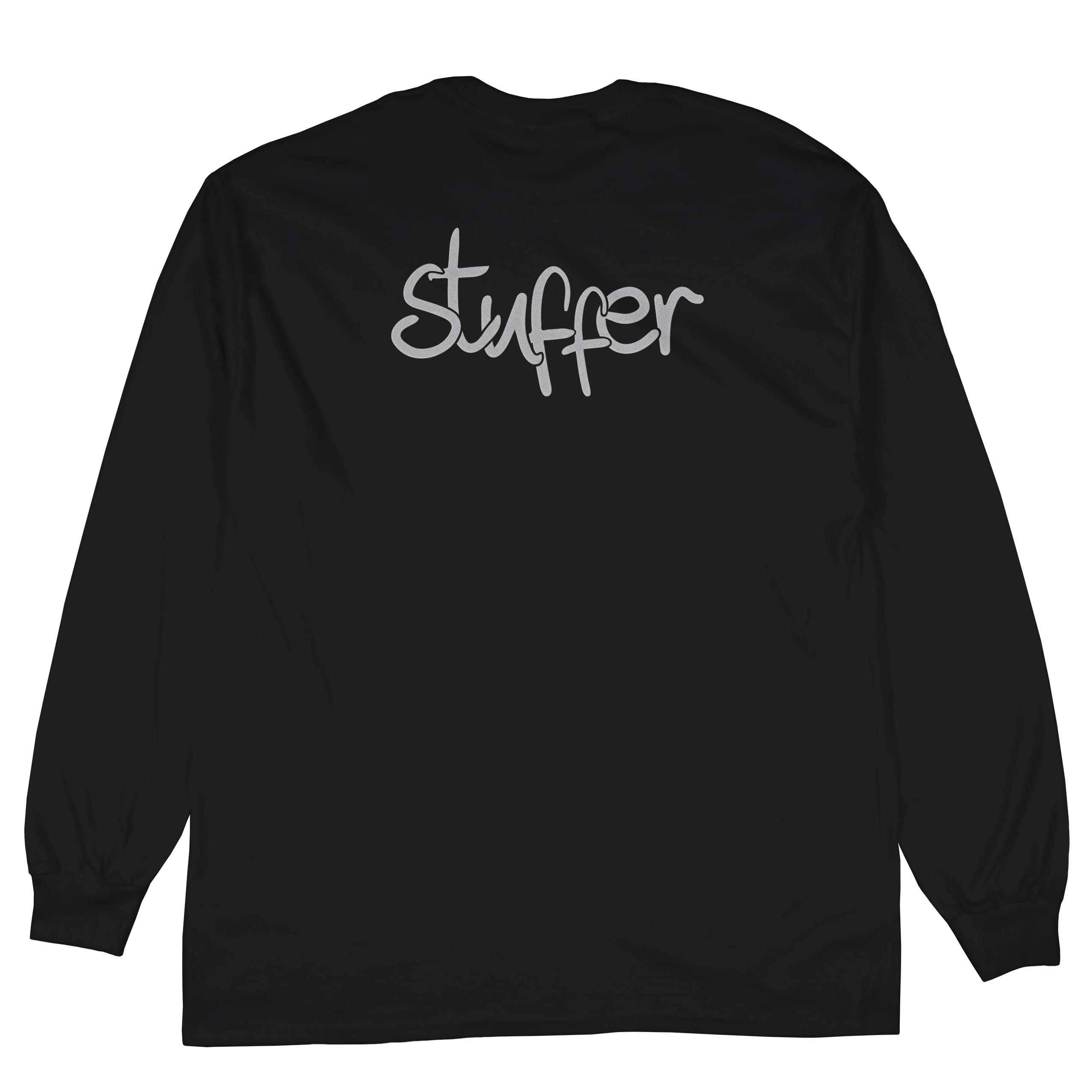 STUFFER REFLECTIVE LOGO L (BLACK)