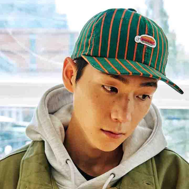 [블프가][FHBG] DYNADOG CORDUROY FLAT CAP (GREEN)