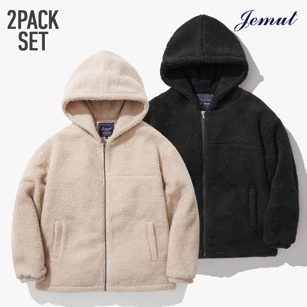 [제멋][패키지] 모스트 양털 후드 자켓 5종 1+1패키지 JMOT2262