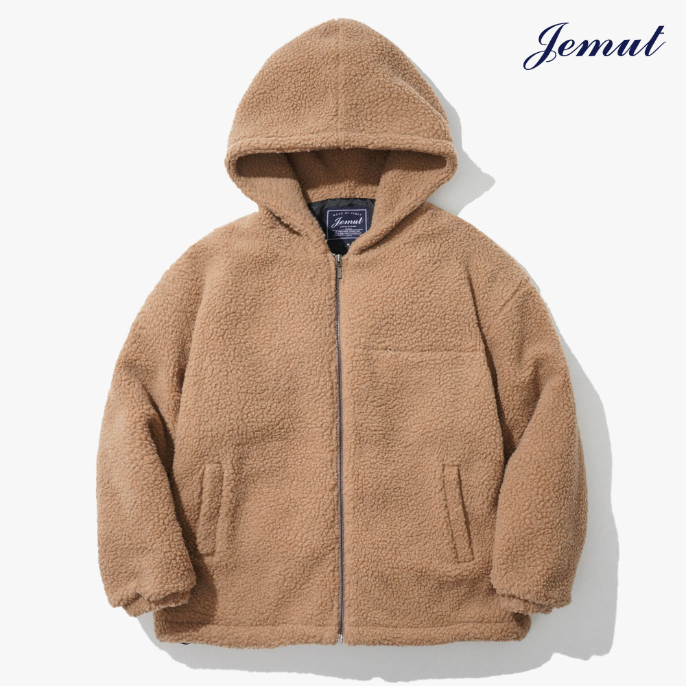 [제멋] 모스트 양털 후드 자켓 베이지 JMOT2262