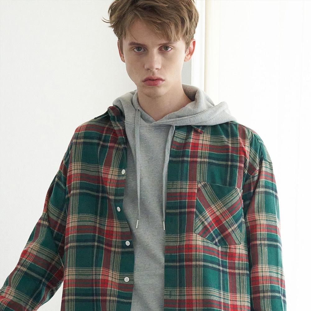 Check Shirts(Green) CW19