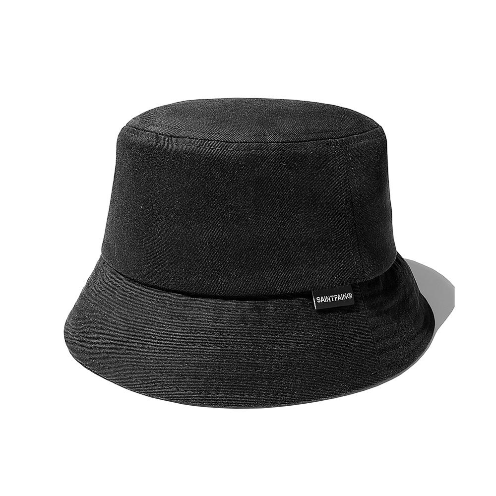 SP Pigment Washing Bucket Hat-Black