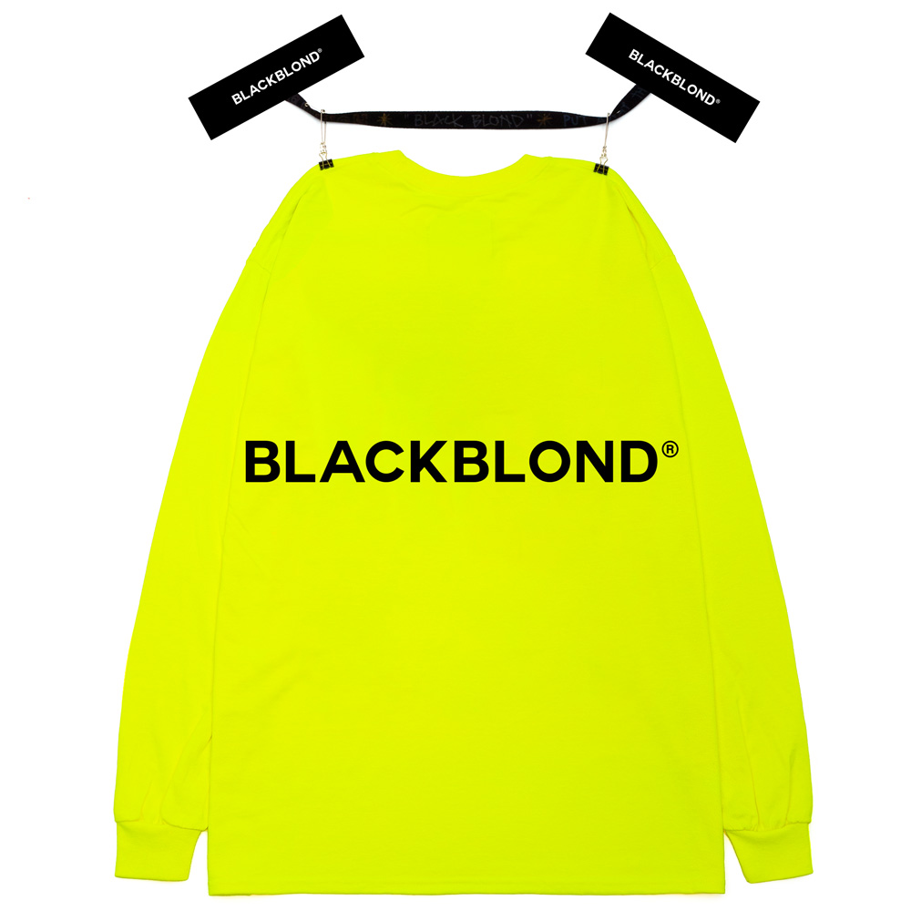 BBD Reflection Classic Smile Logo Long Sleeve Tee (Neon)
