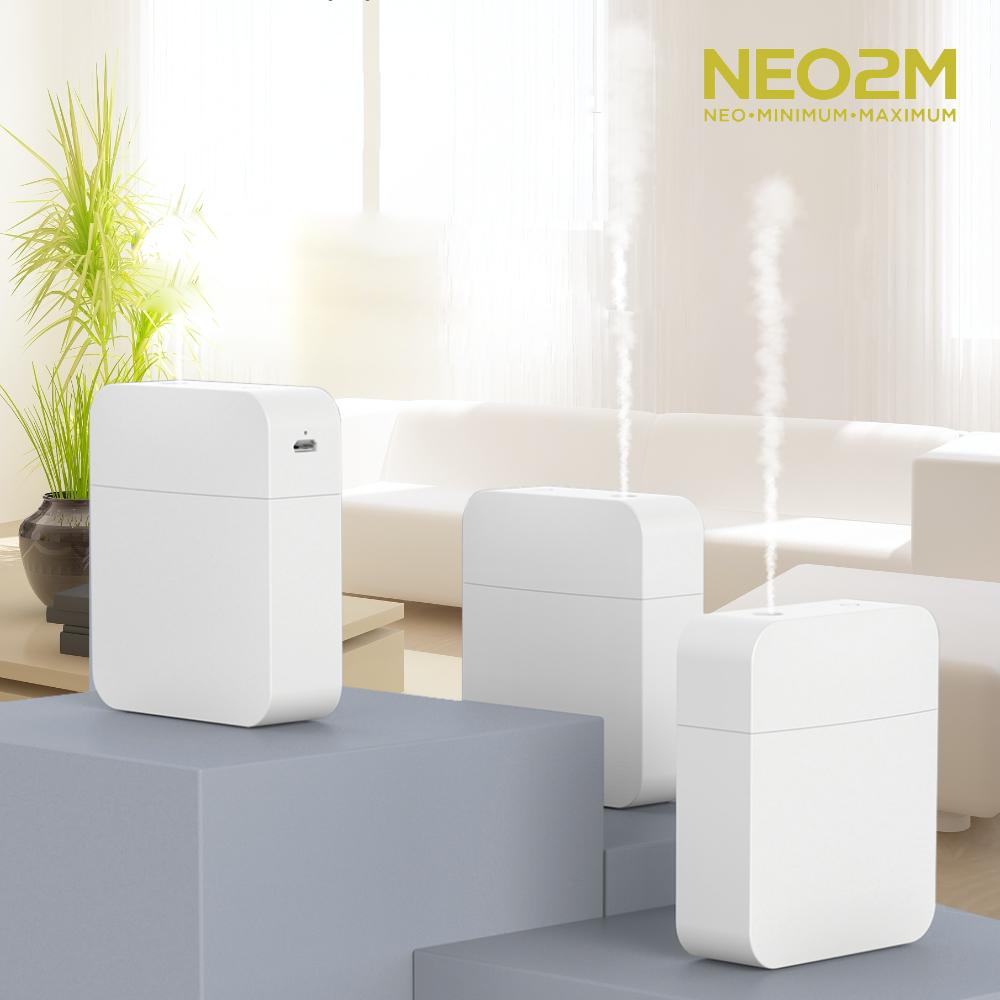 NEO2M 미니 무선 휴대용 초음파가습기 HP950
