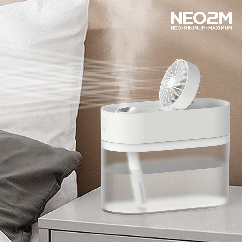 NEO2M 미니 무선 선풍기 가습기 HP930