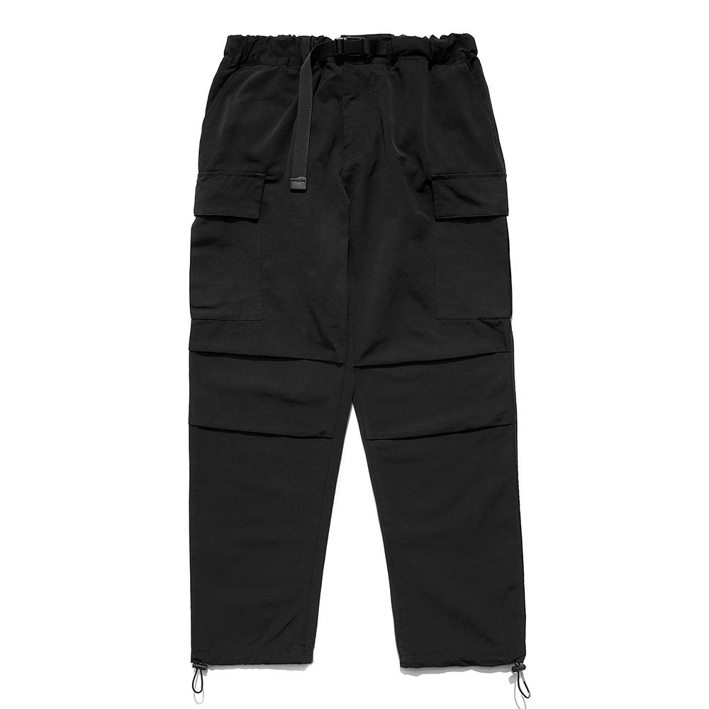 [패밀리세일]SP Mono Cargo String Pants-Black