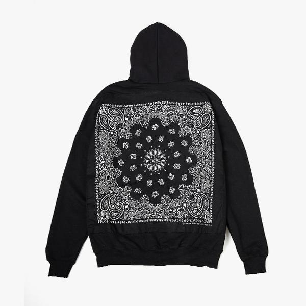 [단독할인][하바행크] 후드집업 BLACK BLACK