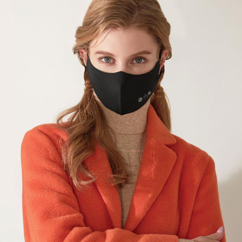 99.9% 항균 구리 자체필터 패션마스크 by 엔오티
