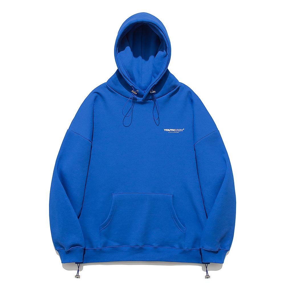 [입점특가]YK STRING OVER FIT HOOD-COBALT BLUE