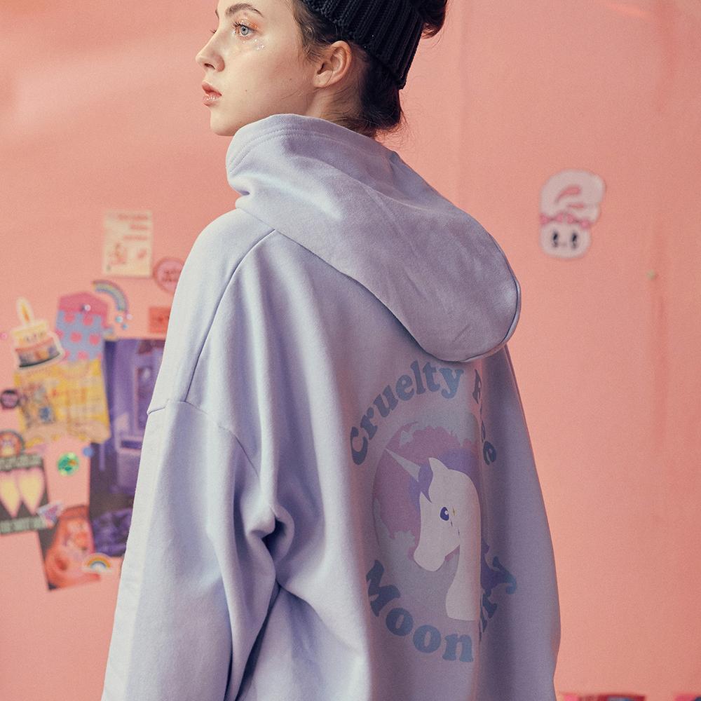 [입점특가]Unicorn hoodie -Blue