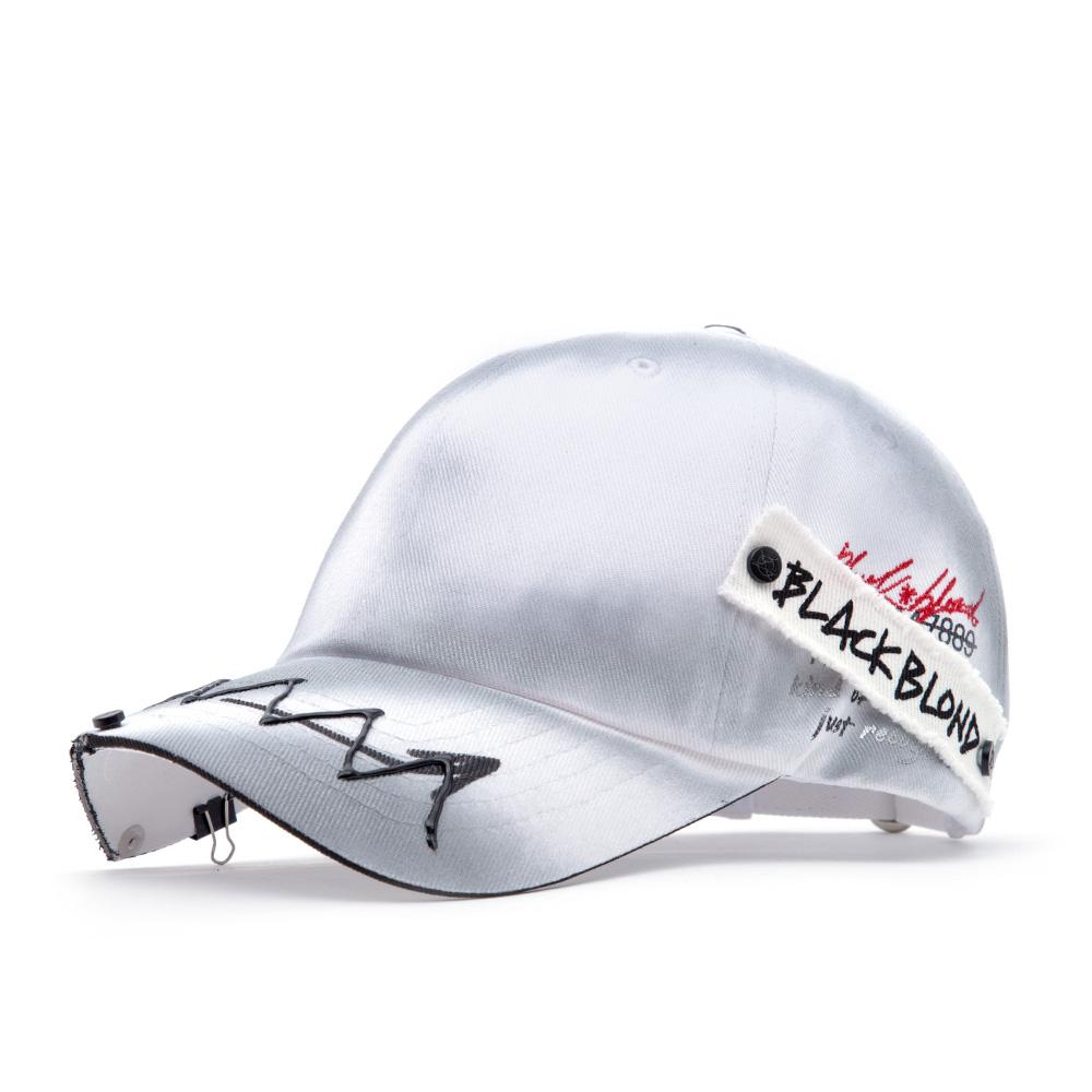 BBD Ghost Slogan Patch Logo Cap (White)