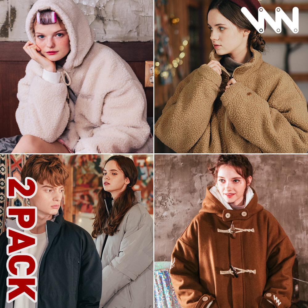 [신년특가][더블유브이프로젝트][패키지] 겨울 아우터 2PACK