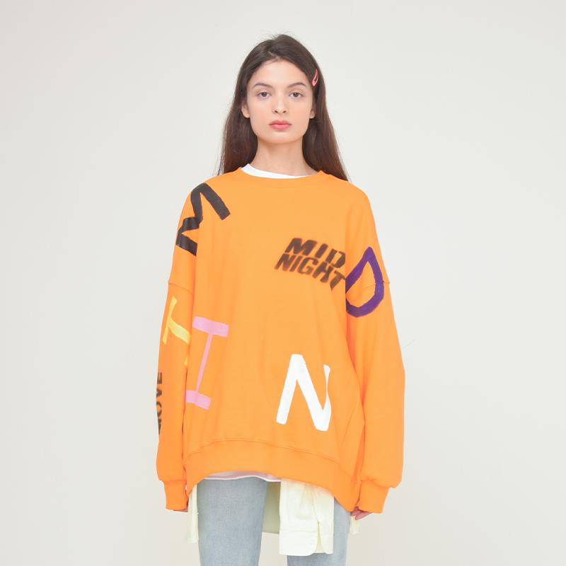 [unisex] alphabet mtm (orange)