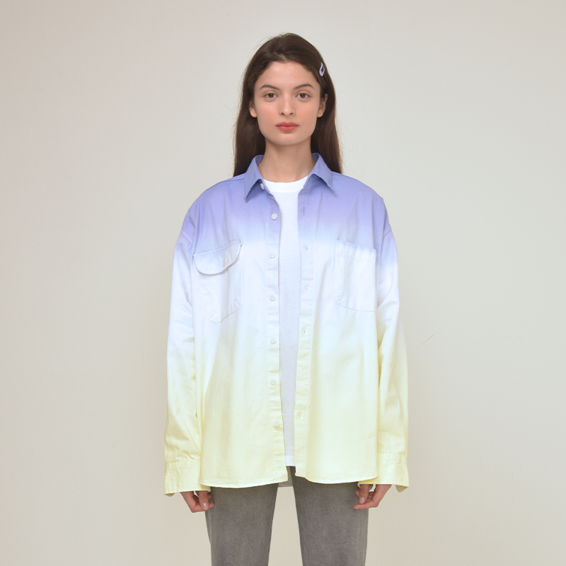 [unisex] tie dye shirts (yellow)