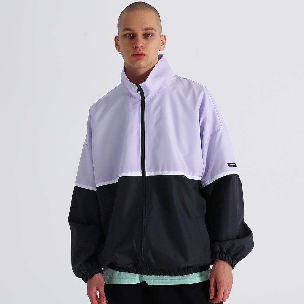[어반플레이어스] 테스 오버핏 바람막이 자켓 (바이올렛)
