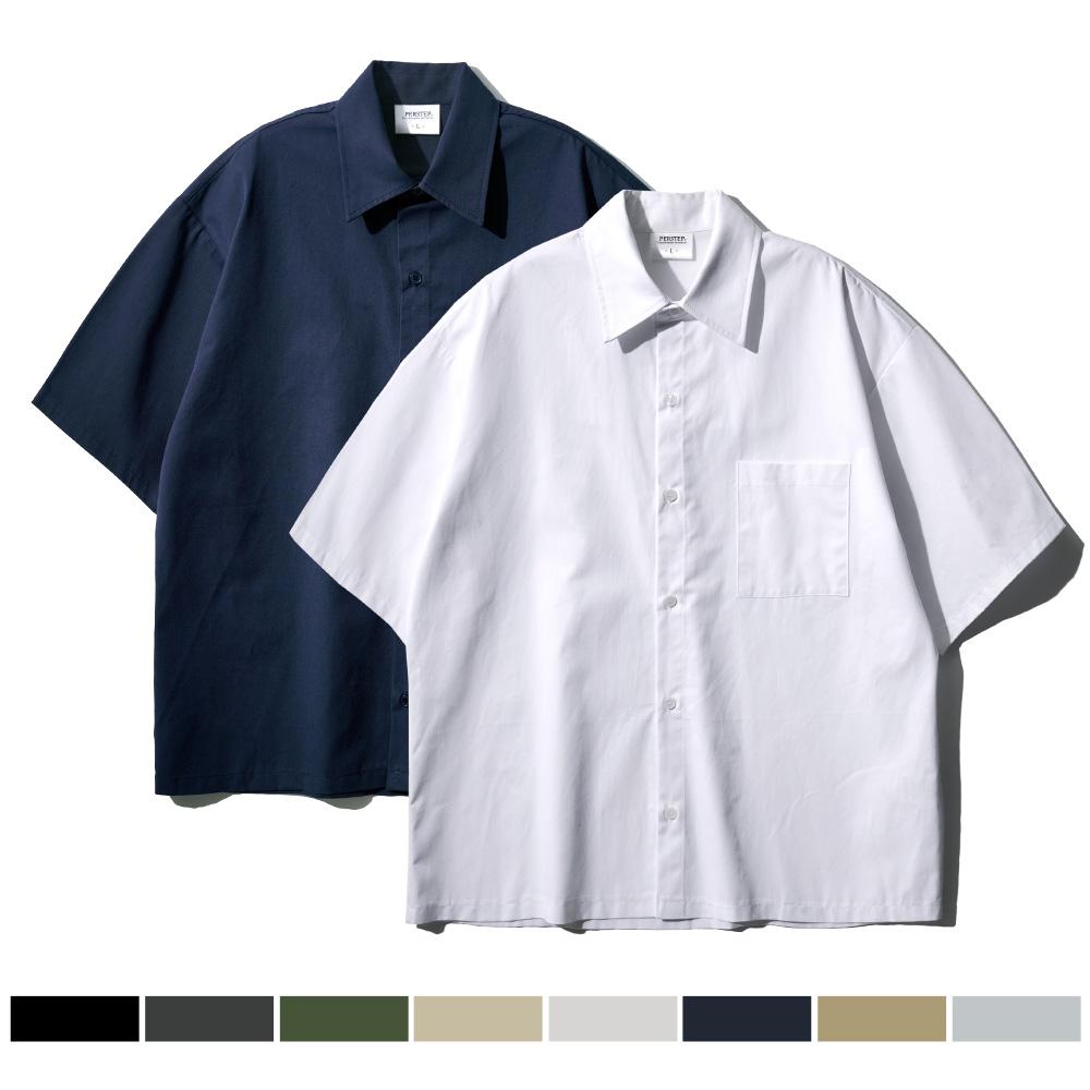 [퍼스텝][패키지] 2pack 플라운더 하프 셔츠 9종 DESS4420