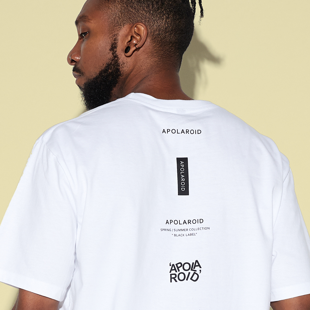 AP520FB APOLAROID UTILITY T-SHIRT[WHITE]