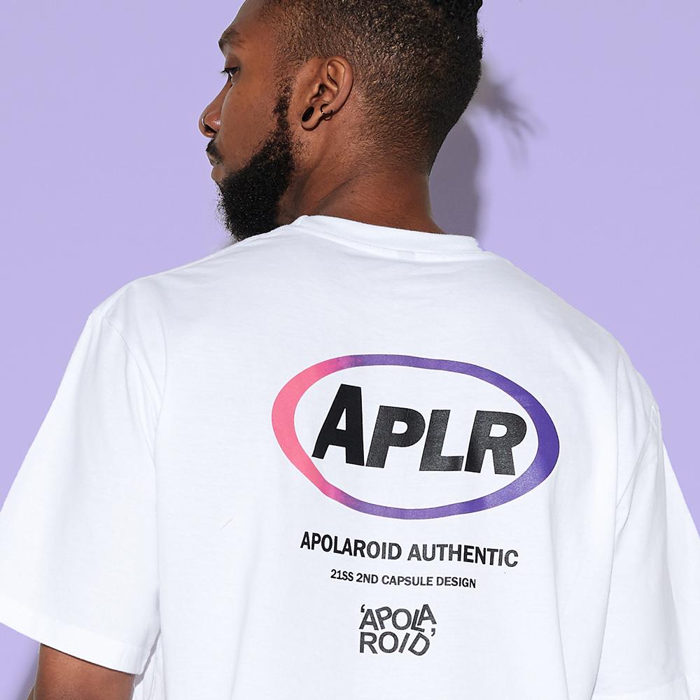 AP500FB APOLAROID APLR T-SHIRT[WHITE]
