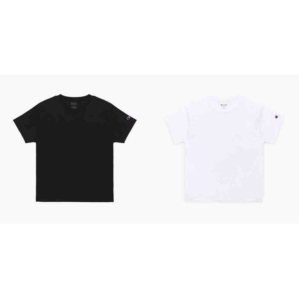 [오버핏][1+1]챔피온 남여공용 베이직 숏슬리브 티셔츠 T425 기획전