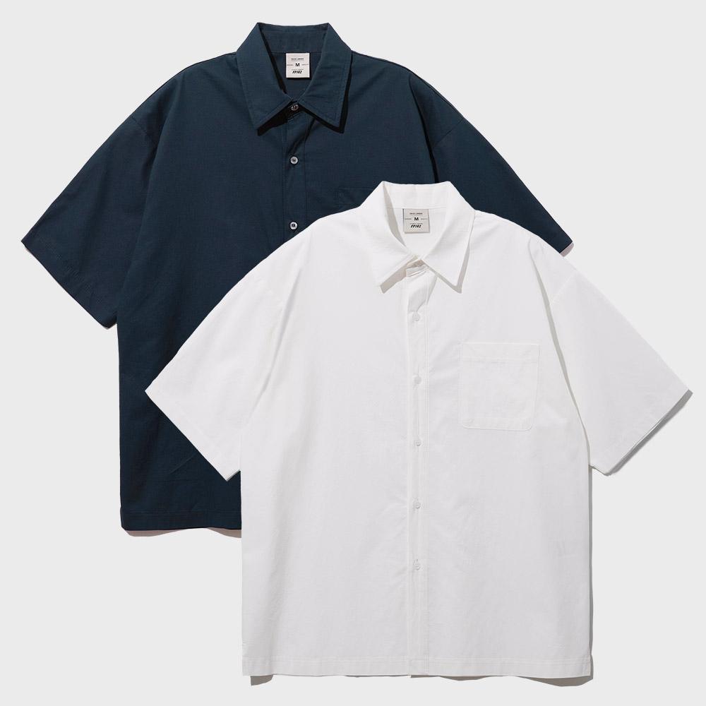 [패키지][페플] 머스트해브 코튼 반팔 셔츠 6종 1+1 패키지 KYSS1311